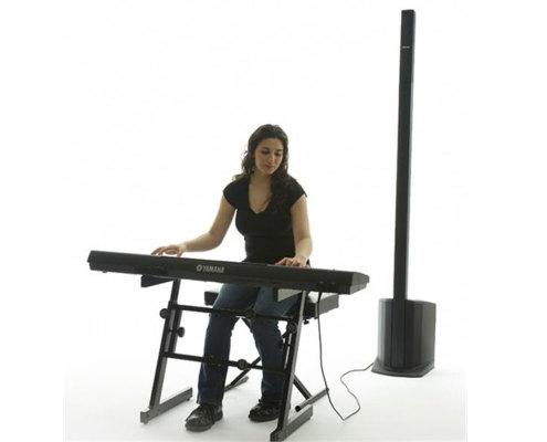 hyra ljud vigsel bröllop pianist stockholm bose l1 compact