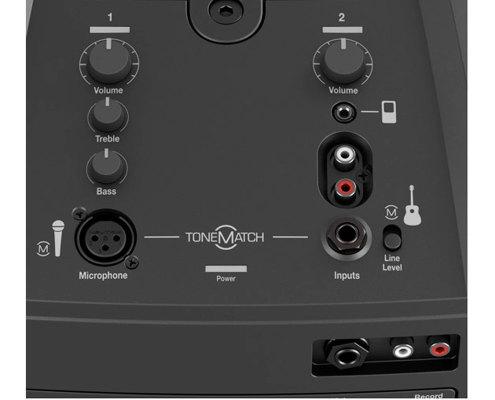 hyra ljudanläggning högtalare inbyggd mixer stockholm bose l1 compact