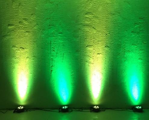 hyr spotlight stockholm grön