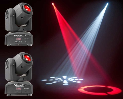 hyr mini moving head stockholm panther 25