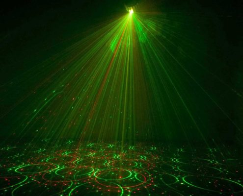 hyra discolampa stockholm laser