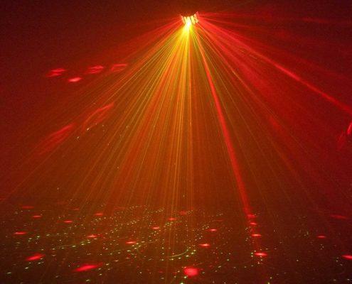 hyra discolampa stockholm moonflower laser