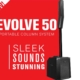 hyr pelarhögtalare stockholm ev evolve 50