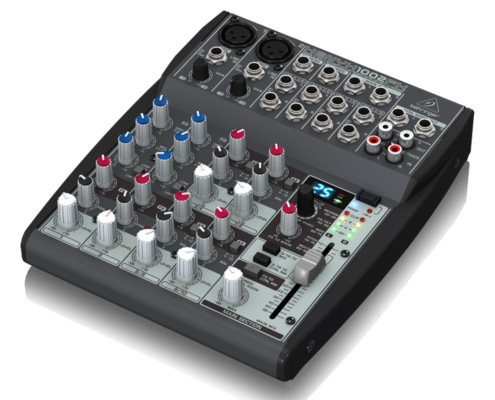 hyra mixerbord stockholm behringer xenyx 1002fx