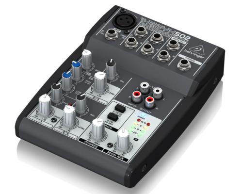 hyra mixerbord stockholm behringer xenyx 502