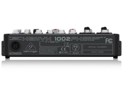 mixerbord behringer xenyx 1002fx