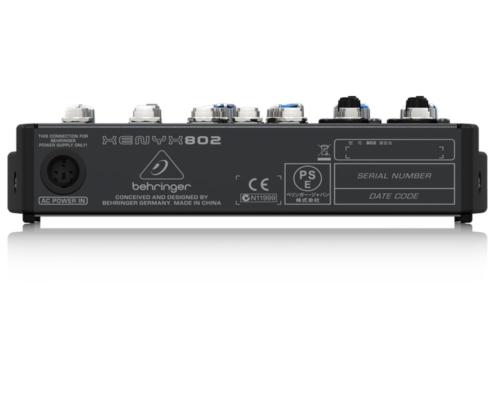 mixerbord behringer xenyx 802