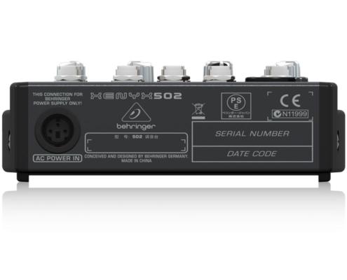 mixerbord behringer xenyx 502