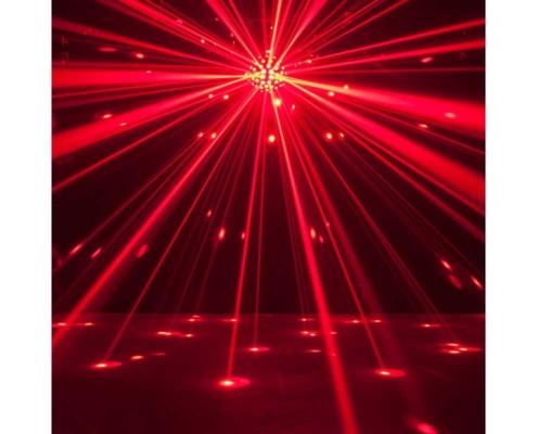 adj starburst röd discokula