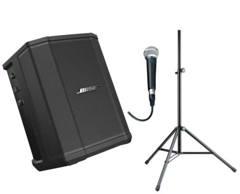 portabel ljudanläggning batteri mikrofon stockholm
